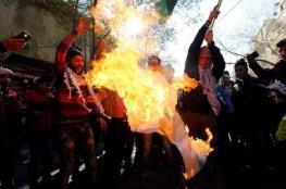 مظاهرات عارمة في عمان والأردنيون يهتفون : القدس عاصمة فلسطين