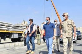 """السيسي : """"اعداء الوطن """" يشككون بقدرة مصر على مكافحة كورونا"""