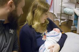 لاول مرة في العالم ..ولادة صبي  من رحم امرأة متوفاة