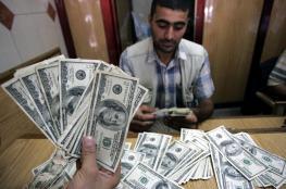 الدولار يهبط الى أقل سعر له منذ 30 يوما مقابل الشيقل