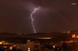 الراصد الجوي : منخفض يتخلله امطار وعواصف رعدية يوم غداً