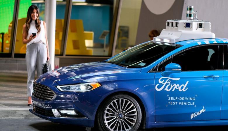 فورد تعلن قدرتها على المنافسة بسوق السيارات ذاتية القيادة