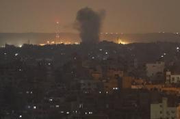 الاحتلال يستهدف مواقع للمقاومة جنوب ووسط قطاع غزة