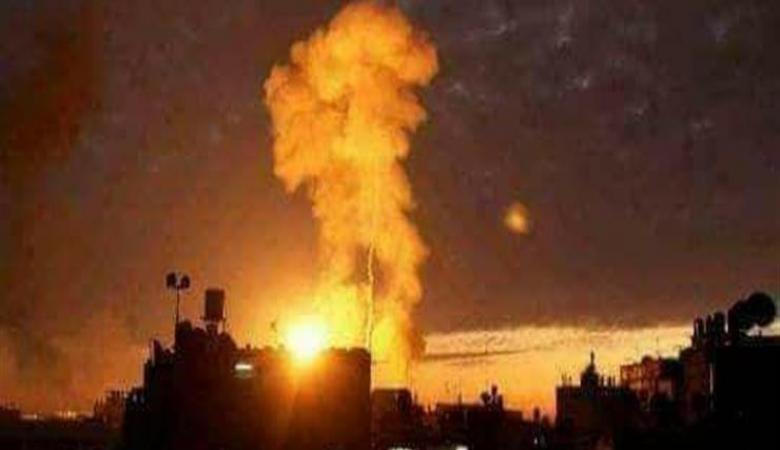 طيران الاحتلال يقصف عدة اهداف في قطاع غزة