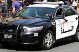 الشرطة الاردنية تساعد سيدة على وضع مولودها الجديد