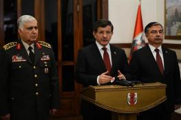 """اوغلوا :  الطيران التركي قتل """" 200 """" من تنظيم داعش في قصف  على شمال سوريا"""
