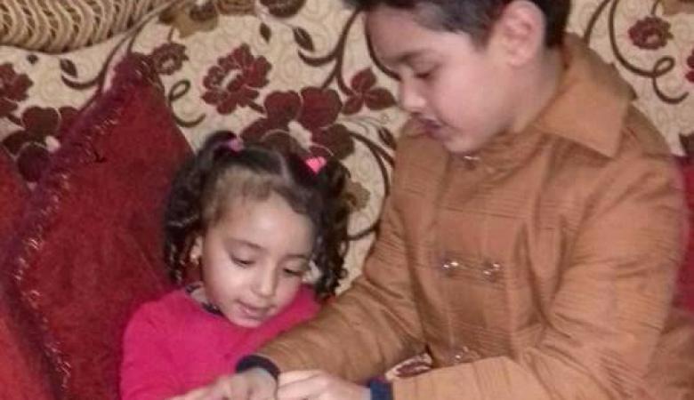 بالصور ..خطوبة طفلين هما الأصغر في مصر حتى الآن