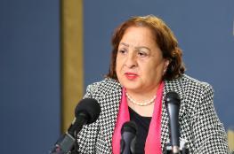 """وزيرة الصحة تؤكد : فلسطين خالية من """"كورونا """""""