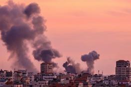 اسرائيل تقصف اهدافا متفرقة في قطاع غزة