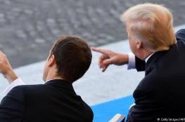 اتفاق أمريكي فرنسي على مواجهة ايران وحزب الله