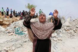 جرافات الاحتلال تهدم منزلا في يطا بمحافظة الخليل