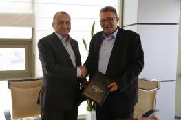 توقيع اتفاقية بين شركة الاتصالات وجامعة القدس