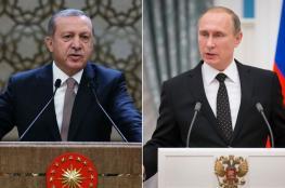 بوتين وأردوغان يعبران عن قلقهما ازاء قرار ترامب بشأن القدس