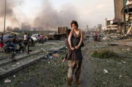 """لبنانيون: انفجار بيروت يشبه """"يوم الآخرة"""" وأفظع من الحرب الأهلية"""