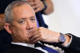 """غانتس : لا يمكن ان اشارك في حكومة الفاسد """"نتنياهو  """""""