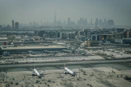دبي توقف العمل في بناء أكبر مطار في العالم