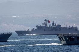 تركيا تجري مناورات عسكرية ضخمة قبالة السواحل الليبية