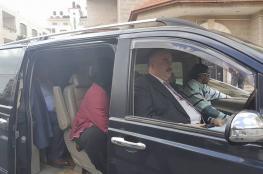 وفد من وزارة النقل والمواصلات يتوجه الى قطاع غزة