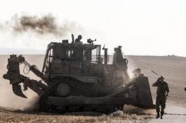 جرافات الاحتلال تتوغل في قطاع غزة