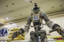 عودة أول روبوت روسي يشبه البشر من الفضاء