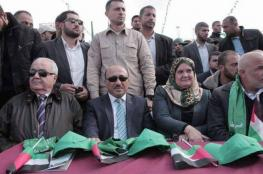 وزراء في حكومة التوافق يشاركون في مهرجان انطلاقة حماس بقطاع غزة