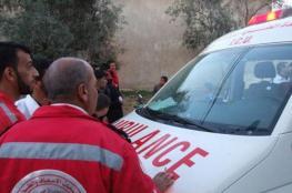 اصابة شاب بجراح متوسطة جراء انفجار جسم مشبوه في نابلس