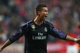 كريستيانو اول لاعب بتاريخ الدوري الاوروبي يبلغ الهدف رقم 100