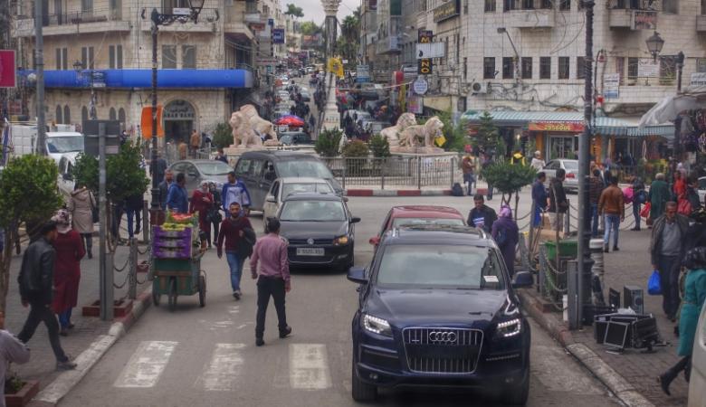 هذه المدينة تتربع على عرش السيارات المرخصة في الضفة الغربية