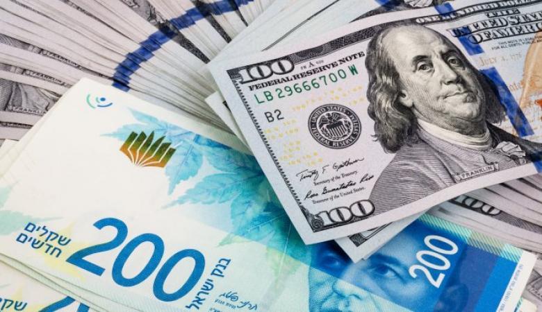 أسعار العملات : ثبات في سعر صرف الدولار مقابل الشيكل