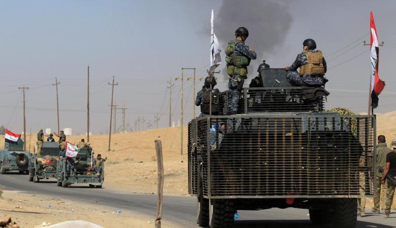 هجوم  للحشد الشعبي  على الأكراد قرب الحدود التركية