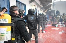 """استنفار في سجون الاحتلال في اعقاب استشهاد الأسير """"بارود """""""