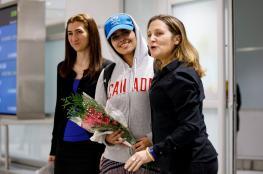 """هكذا استقبلت كندا الفتاة السعودية الهاربة """"رهف """""""