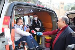 نقل أسيرين محررين للحجر المنزلي في نابلس