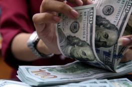 انخفاض طفيف على سعر صرف الدولار مقابل الشيقل