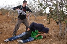 قوة اسرائيلية تعتقل طفلين شقيقين في الخليل