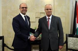 الحمد لله يبحث مع وزير خارجية ايطاليا سبل التعاون
