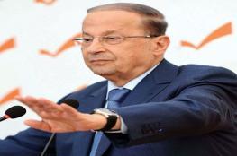 الرئيس اللبناني: فلسطين تبقى أولوية ونحن مع الأسرى حتى الحرية