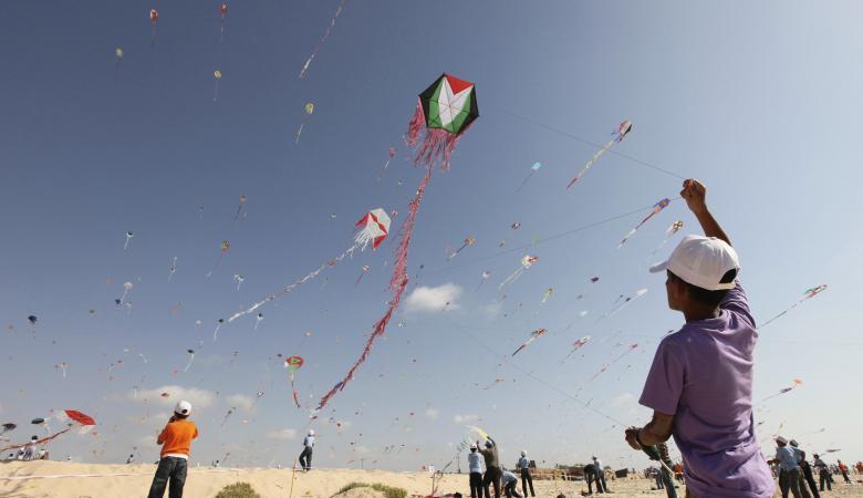 نتيجة بحث الصور عن الطائرات الورقية غزة