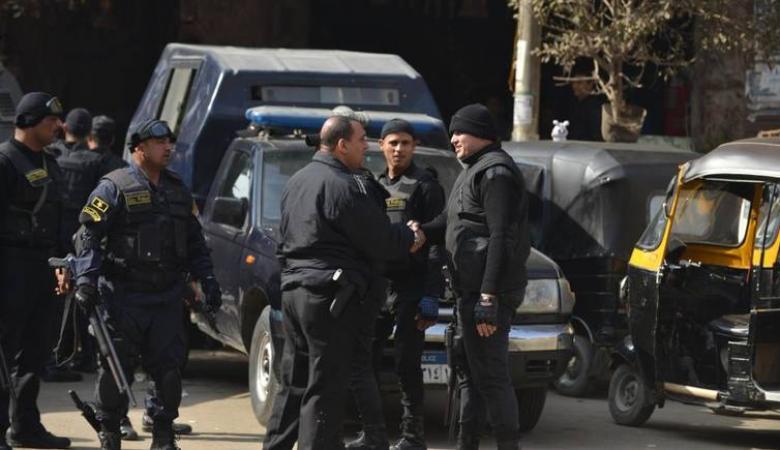 مقتل خمسة رجال شرطة في هجوم قرب القاهرة