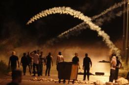 الاحتلال يقتحم رام الله ويغلق مطبعة وورشة حدادة ..شاهد