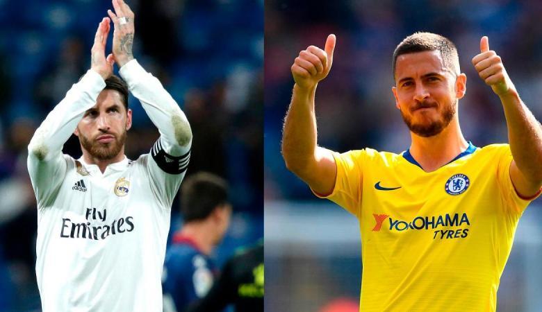 """قائد ريال مدريد : """"هازارد """" احد أفضل لاعبي كرة القدم"""