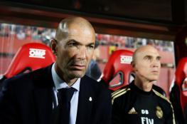 اول تعليق من زيدان على خسارة ريال مدريد امام مايوركا