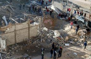 الاحتلال يستهدف موقعاً للمقاومة في غزة