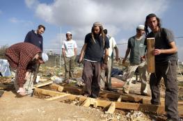 بؤرة استيطانية جديدة شمال شرق  رام الله