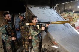 """الجيش السوري يستعيد """"السخنة"""" ويقترب من آخر معاقل """"داعش"""" في سوريا"""
