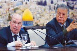 الزعنون يطلع الرئيس على الترتيبات الجارية لعقد المجلس الوطني