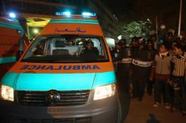 مصرع 10 مصريين وإصابة 17 آخرين في حادث تصادم بالقرب من القاهرة
