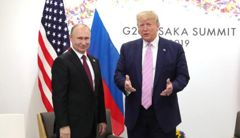 """ترامب يعلن تأييده عودة روسيا الى مجموعة """"السبع الكبار """""""