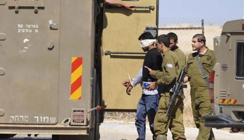 اعتقال 350 مواطناً فلسطينيا الشهر المنصرم