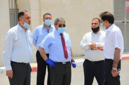 وفد رئاسي يتفقد مشاريع الإدارة العامة للمعابر في أريحا